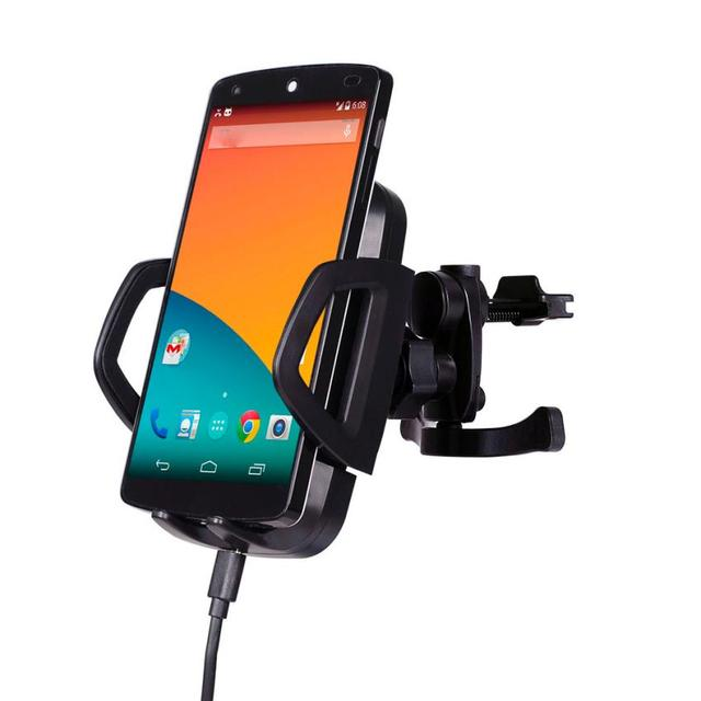 HL 3-Coils Qi Wireless Car Charger Transmitter Holder for Samsung Galaxy S7/S7 edge AUG 29