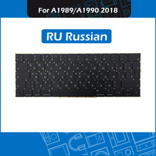 New RU Laotop 13″ 15″ Replacement keyboard for Macbook Pro Retina A1989 A1990 Keyboard Russian Layout Mid 2018 MR9Q2 MR932 MR942