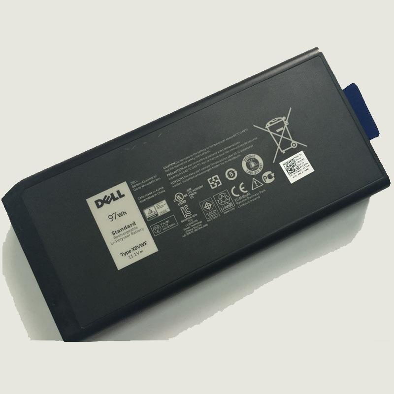 Original 11.1V/ 97wh Laptop Battery 4XKN5/ X8VWF/ VCWGN/ 5XT3V/ 05XT3V/ 09FN4 FOR Dell Latitude E5404 E7404