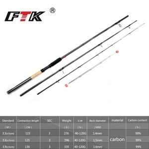 Image 3 - FTK Fishing Rod 99% Carbon Feeder Rod 3SEC C.W 40 120G 3.3M 3.6M 3.9M Standard Baitcasting Lure Fishing Stick Fishing Tackle G0D