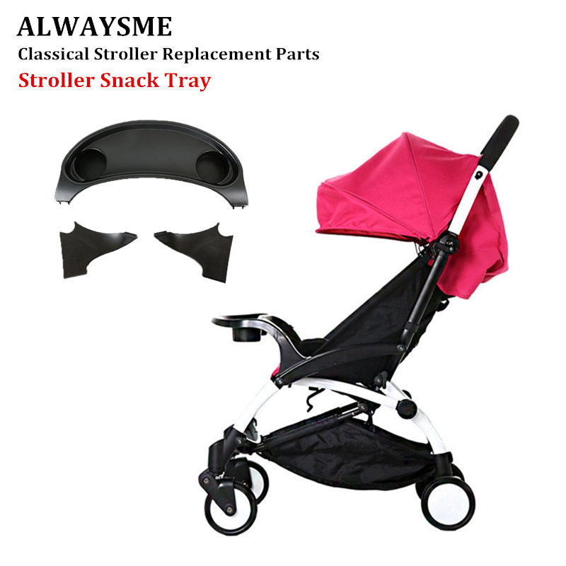 ALWAYSME For Babyzeen YOYYOO Stroller Infant Baby Kids Stroller Snack Tray Baby Baby Kids  Stroller Dinner Table Stroller Black