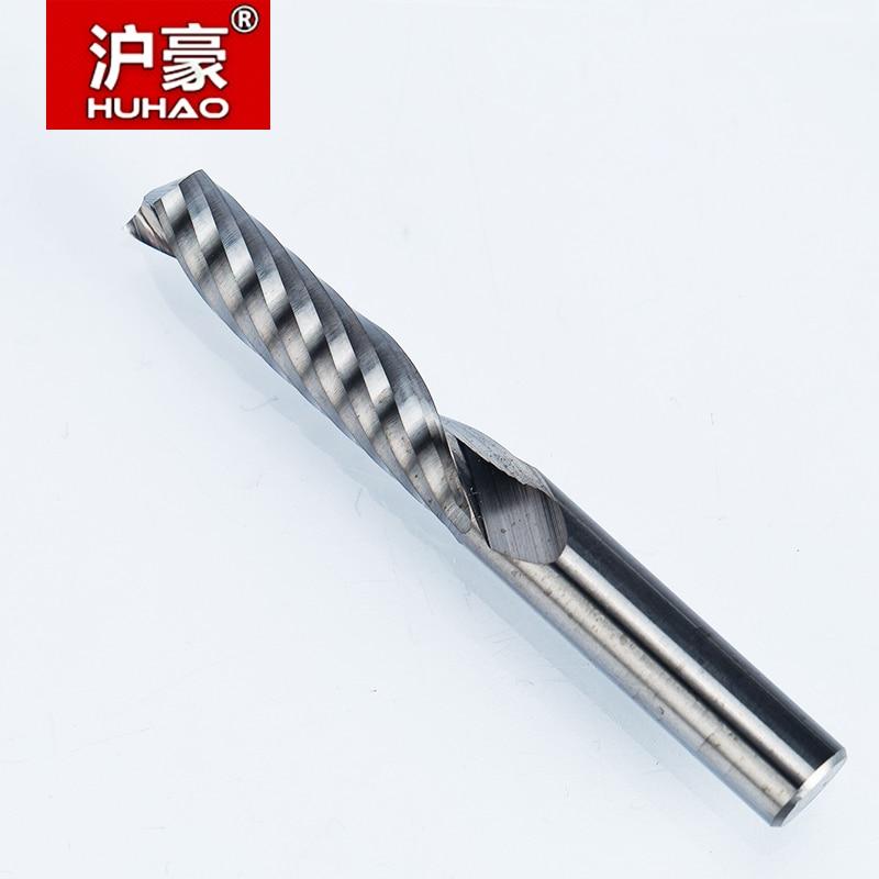 1 pz 6mm Singolo Flauto Spirale Taglierina Fresa CNC Fresa per Fresa - Macchine utensili e accessori - Fotografia 3