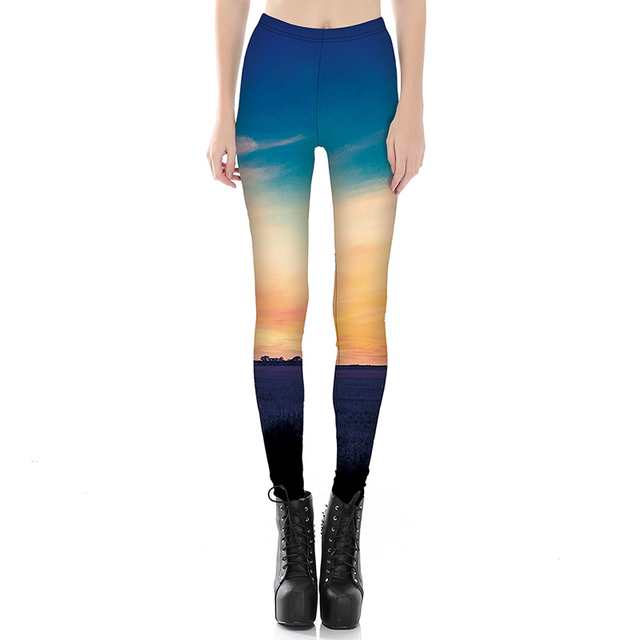 a34ed7bb714 High Quality Fashion Women Sporting Leggings Beautiful 3D Digital Printed  Fitness Legging Female Plus Size Best Workout Leggins