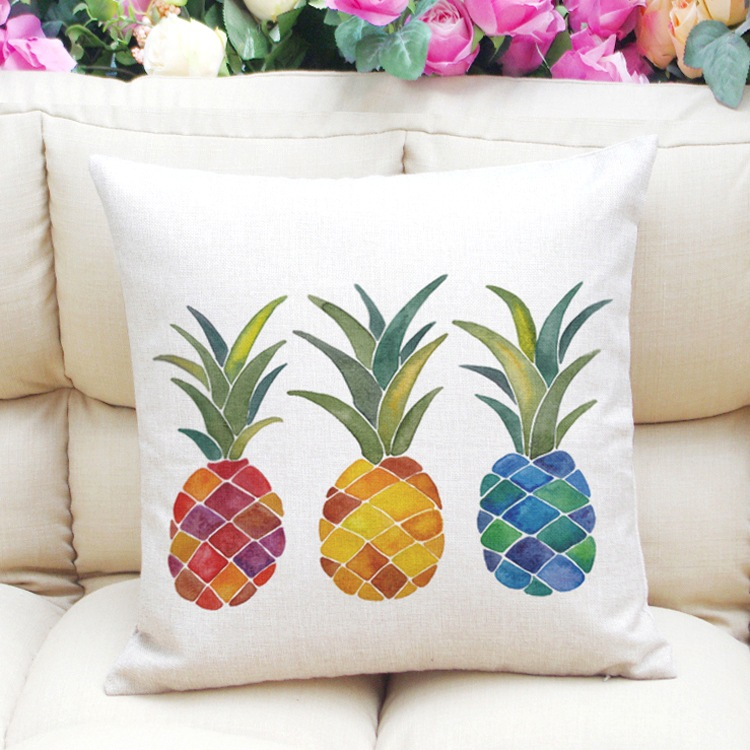 a pillow insert happiness artistic and product be x pineapple