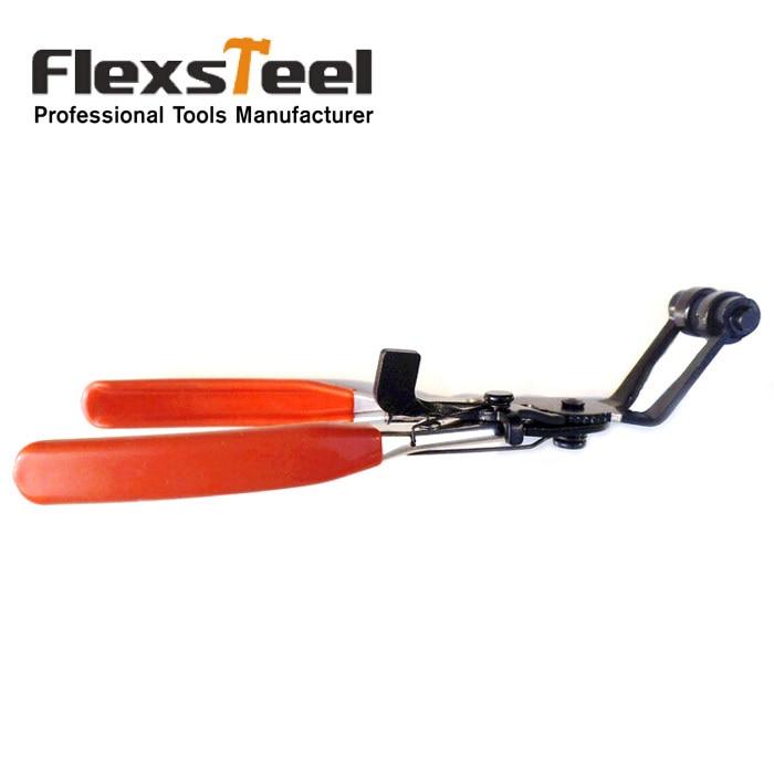 Unelte pentru autovehicul Instrumente de prindere a furtunului 8,5 inci de 45 de grade 45 unghi îndoit nasul furtunului de prindere cleme pentru clemă pentru repararea automobilului