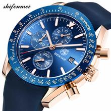 Unique Men Watches Brand Luxury Silicone Strap Waterproof Sport Quartz Chronograph Military Watch Men Clock Relogio Masculino