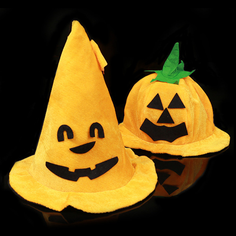 DIY Halloween hat Halloween decoration Pumpkin hats Trick ...