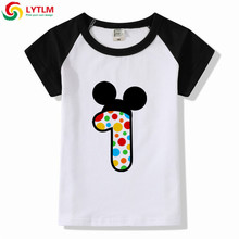 LYTLM First Birthday Shirt Boy New Arrival T For Boys Kids Modis Bobo Choses Baby