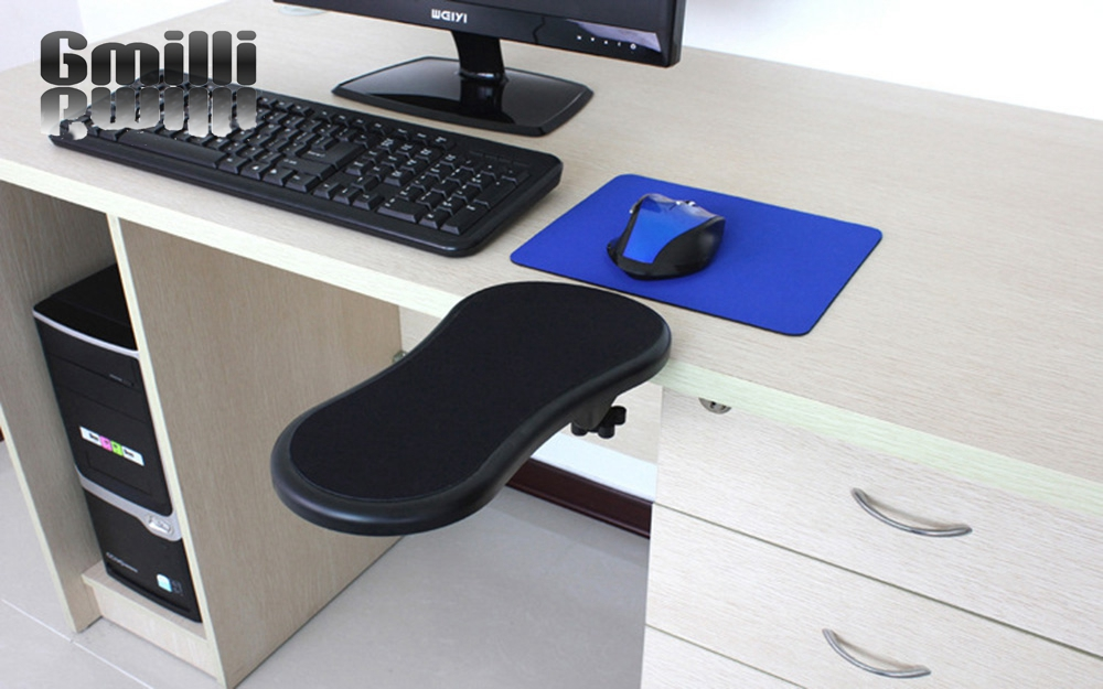 Desk Computer Table Arm Support Mouse Pads Arm Wrist Rests Hand Shoulder Mat New ...