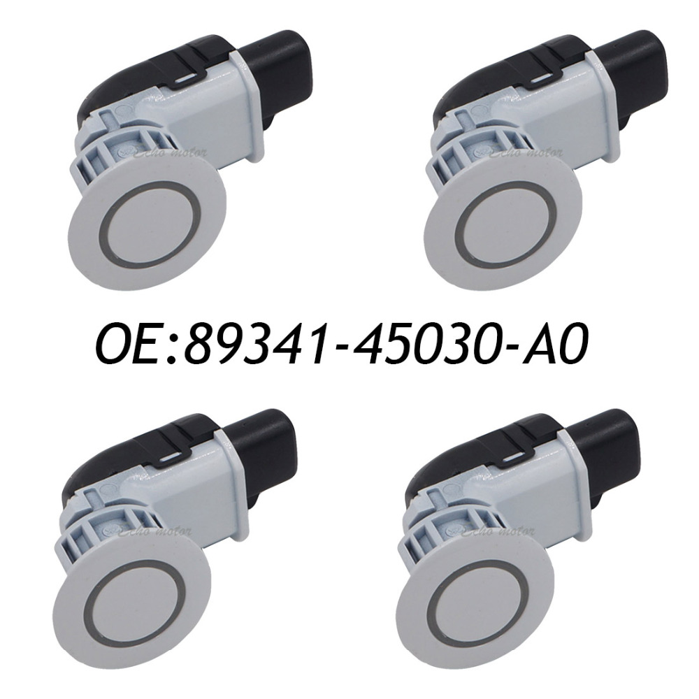 4PCS Parking System 89341 45030 A0 89341 45030 Sensor Parking For Toyota Sienna 89341 45030 040 89341 45030 A0 040 188300 2370