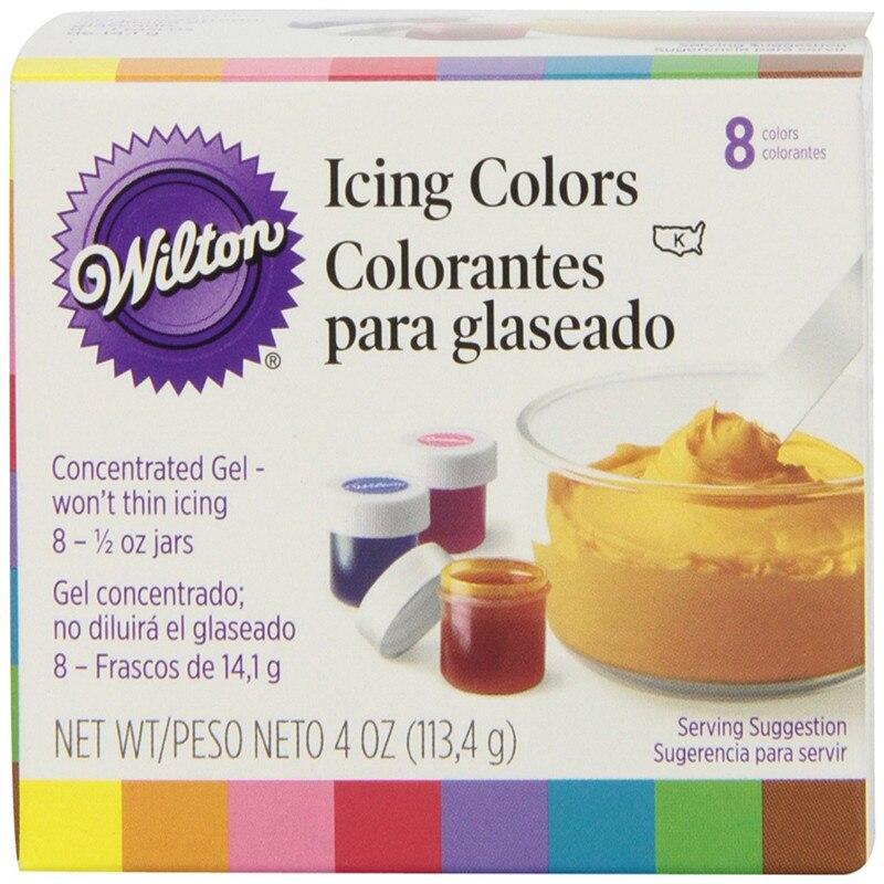 America Wilton Double sugar cake pigment color paste food baking wilton 8 color pigmentAmerica Wilton Double sugar cake pigment color paste food baking wilton 8 color pigment
