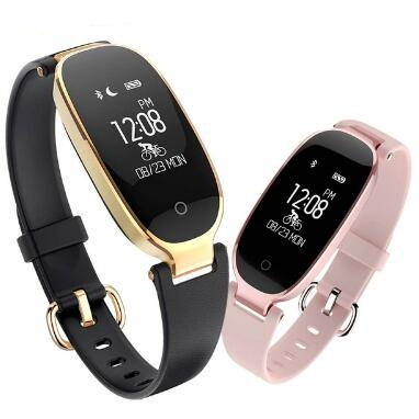все цены на S3 Watch Women Lovers Smart Wristband Heart Rate Fitness Tracker Smart Bracelet Smart band PK xiaomi mi band 3 PK honor band 4 онлайн