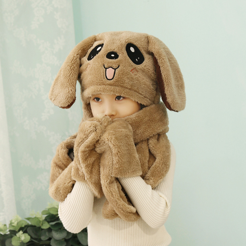 Winter Accessories For Kids Hat  Scarf Gloves Three Pieces Of Suit Boys And Girlswinter Hats And Scarves Kids Winter Sets