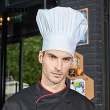Chef di cucina cap Cafe Ristorante Barbecue Cucina Cuoco Cappello Donna  Uomo Berretto di Lavoro Chef 49c4b951d948