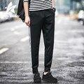 2016 Pencil Pants Men Autumn Fashion Slim Comfortable Elasticity Mens Sweatpants Stripe Large Size Casual Brand Clothing LW062