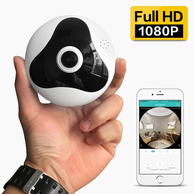 SDETER 360 grados 1080 P 960 cámara inalámbrica CCTV IP cámara de seguridad para el hogar WIFI panorámica IR visión nocturna cámara de vigilancia wifi