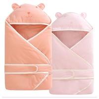 Newborn Baby Hug Quilt Swaddle Blanket Winter Cotton Stroller Sleeping Bag Kangaroo Sleep Sack Four Season Baby Carrier Cover