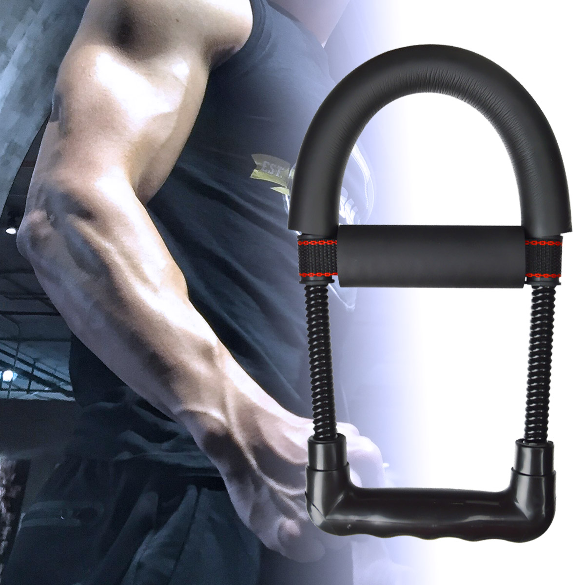 Рукоятка для запястья ручной захват для предплечья устройство фитнес-оборудование для помещений сила запястья устройство для затвердеван...