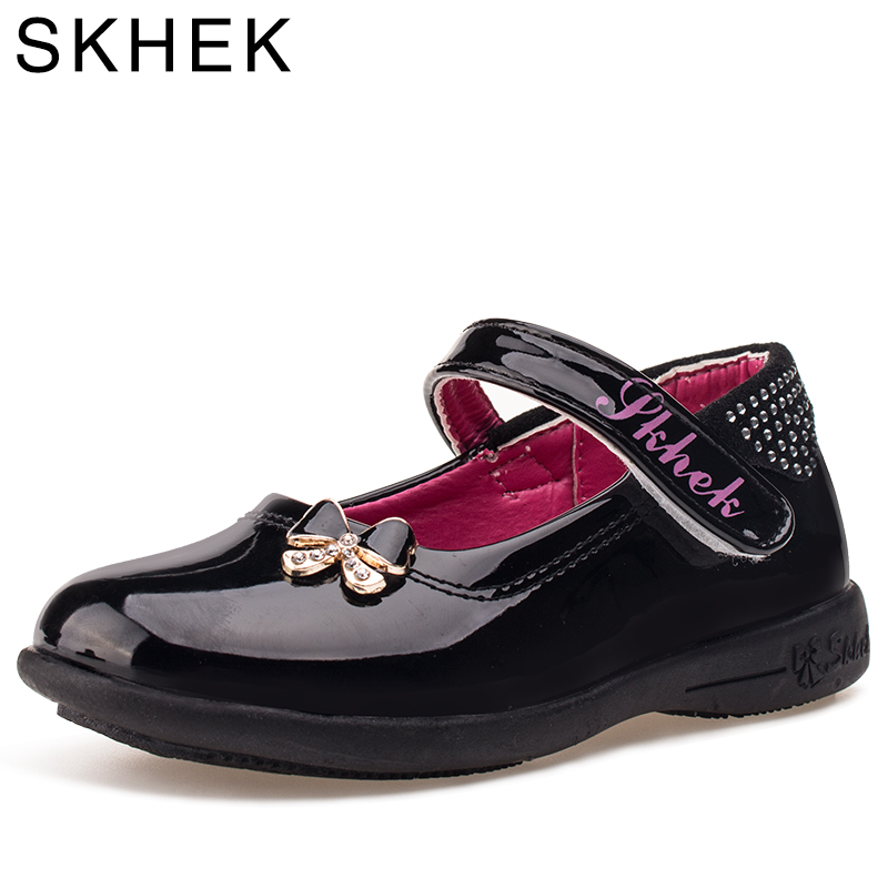 SKHEK New Childrens Shoes For Girls Princess Shoes Bow Diamond Fashion Baby Flat With Girls Shoe Dance Sneaker size 26-35SKHEK New Childrens Shoes For Girls Princess Shoes Bow Diamond Fashion Baby Flat With Girls Shoe Dance Sneaker size 26-35