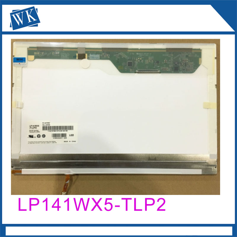 Free Shipping LP141WX5-TLP2 B141EW05 V.3 LTN141AT12 with buckle for T400 R400 14.1 LCD screenFree Shipping LP141WX5-TLP2 B141EW05 V.3 LTN141AT12 with buckle for T400 R400 14.1 LCD screen