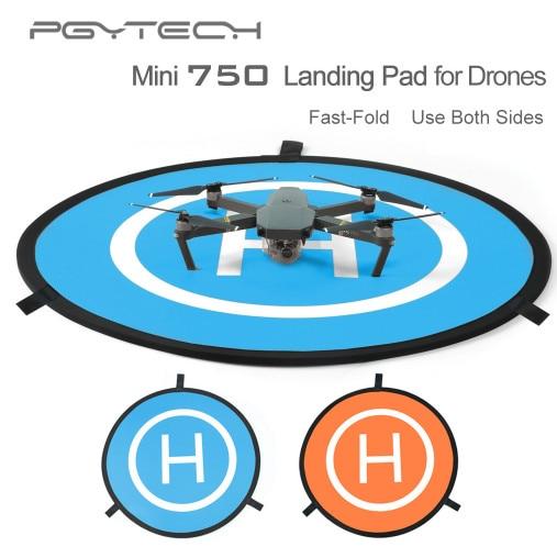 75cm mini Fast-fold landing pad launch pad DJI Mavic 1 2/ Spark phantom 4 inspire 1 RC Drone Quadcopter Helicopter Accessories drone helipad