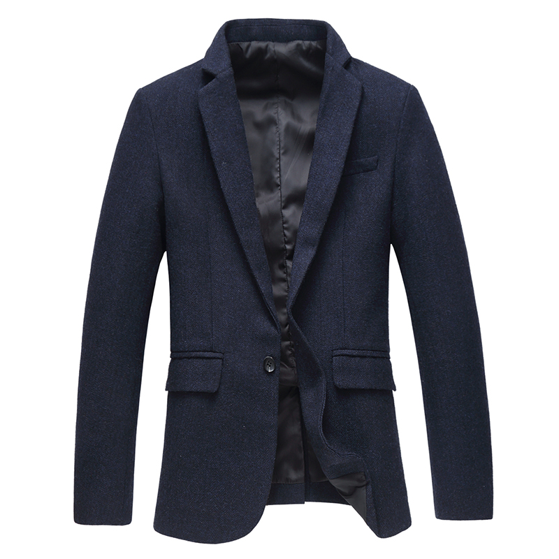 High Quality Solid Suit Jackets New Men's Dress Suits Business Casual Wedding Party Dresses Formal wear Suits & Blazers Size 5XL