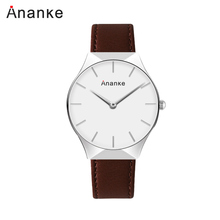 цены Ananke 2019 Fashion Quartz Watch Men Watches Top Brand Luxury Male Clock Business Mens Wrist Watch Hodinky  Relogio Masculino