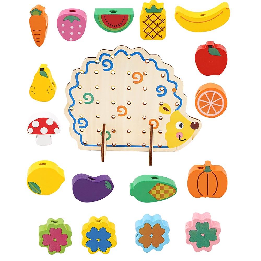 Blocos de construção de brinquedo para 3 : Beads Building