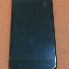 Used Original Touch screen + LCD display + Frame for Doogee