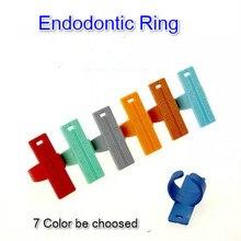7 шт. Стоматологическая измерительная Эндо кольцевая линейка для напильников измерительная шкала Эндодонтическое кольцо 135 градусов стерилизация доступна