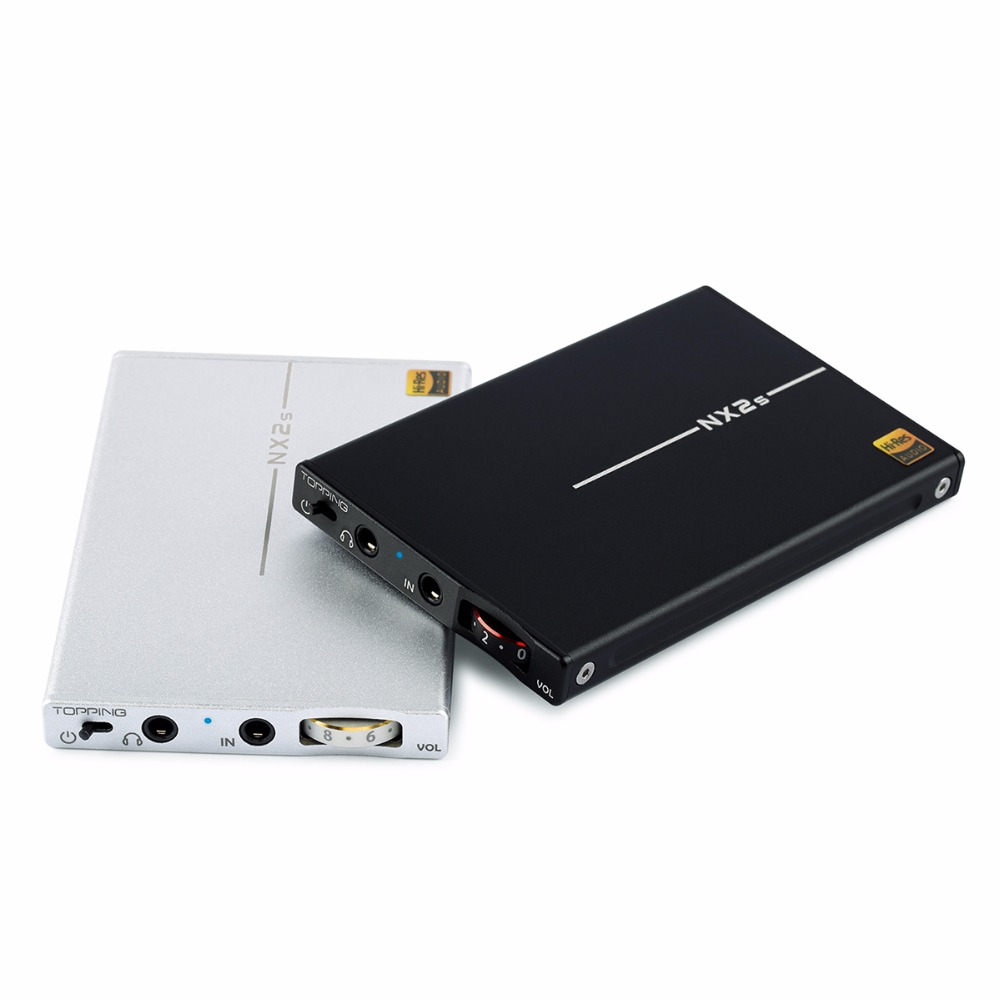 TOPPING NX2s Headphone Amplifier Portable Audio HIFI Digital Stereo Amp USB DAC smal a6 hifi digital amplifier 50wx2 dac digital 110v 220v native dsd512 usb optical coaxial lp player cd analog input