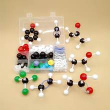1 SET  DLS-23158 structure model of Molecular Chemistry Organic molecules Structure Model Chemistry Teaching free shipping
