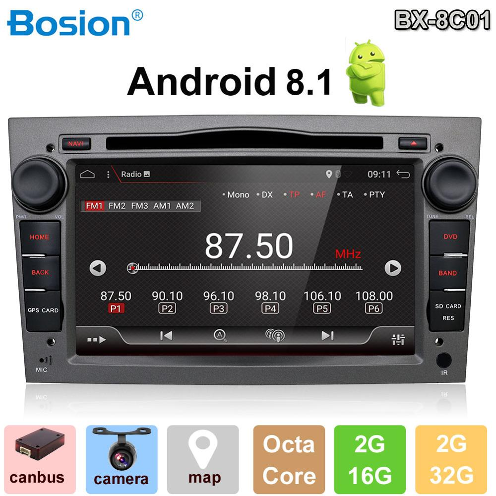 Android 9.0 Autoradio 2 Din Car DVD GPS Navigation for Opel Astra H G J Antara vectra c b Vivaro astra corsa d zafira Wifi