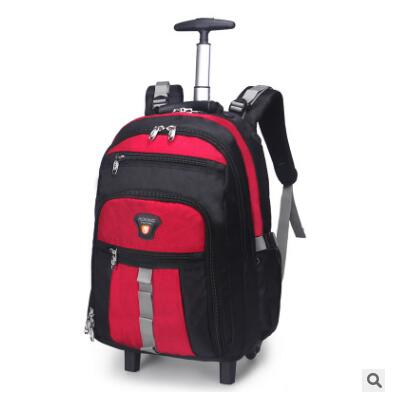 Inch Chariot Inch blue Sur Inch Red Inch Valise orange Inch Inch red Sac Roulettes Rouler Voyage Hommes Nylon Dos Roues silver black 20 22 Femmes De dark Entreprise Blue Bagages 22inch À IgBxOH