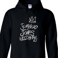 Riverdale Jughead Jones Wuz Here Hooded Sweatshirt