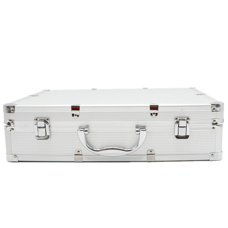 Professional Portable Aluminum Flight Case for SLX24 PGX24 Wired Wireless Microphone System Microphone carrying cases-in Microphones from Consumer Electronics    1