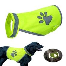 Светоотражающая собачья жилетка, одежда с высокой видимостью, жилеты безопасности для маленьких и больших собак, шлейка для прогулок на открытом воздухе