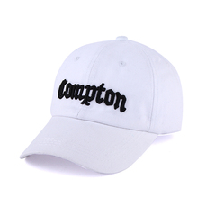 "Embroidered ""Compton"" Adjustable Baseball Cap"