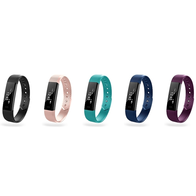 Zeepin ID115 Bluetooth Smart Bracelet Fitness Tracker Sport Smart Wristband Sleep Monitor for IOS Android Samsung Huawei Xiaomi