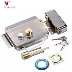 Yobang security home stainless steel electronic door lock for video doorphone intercom electric lock electric strike.jpg 250x250