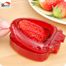 CUSHAWFAMILY Stainless steel blade strawberry slicer desserts cake salad fruit knife home restaurant Kitchens gadget tool cutter