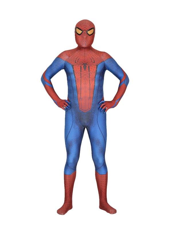 Amazing Spider man costume Spiderman Suit 3D Printed cosplay Zentai Halloween Party Costumes