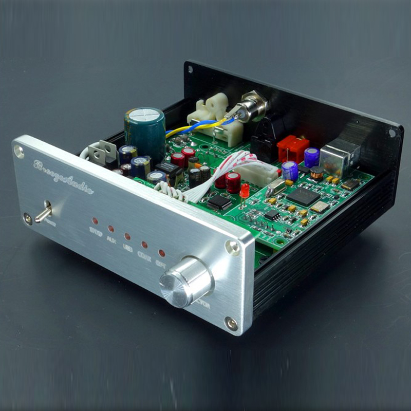где купить  Finished AK4490+AK4118+XMOS USB DAC Asynchronous Hifi Audio Digital Decoder Support Coaxial Optical USB 384K 32BIT Input Hot  дешево