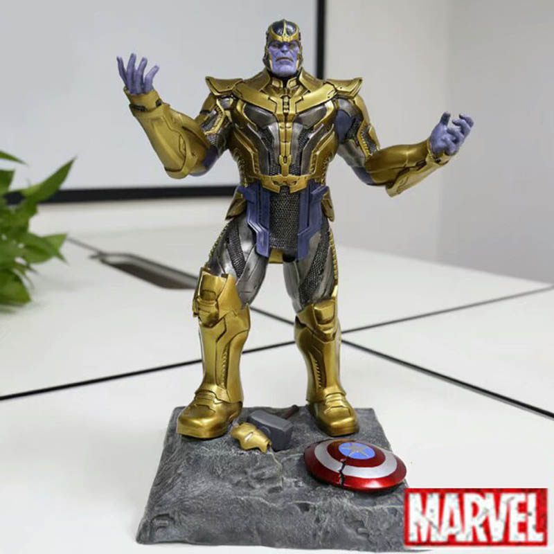 DHL Free Delivery The Avengers 3 Thanos Resin Action Figure Thanos Figure Garage Kit Toy Movie Character 41CM the garage kit resin kit of weeping angels doctor who action figure gift toys mini figures