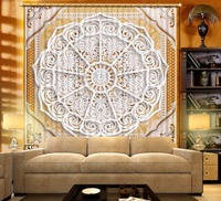 Euporean pattern 3D Curtains For Living room Window Curtains For Bedroom Blackout Curtains