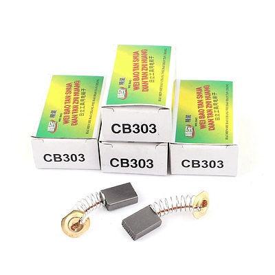 5 Pairs CB303 Motor Carbon Brush 16 x 11 x 5mm for Hitachi Power Tool газовая варочная панель whirlpool gma 6411 nb
