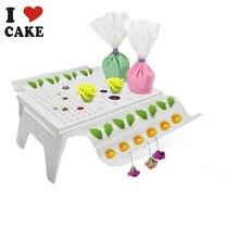 Kuchen Sugarcraft Fondant Abnehmbare Gum Paste Blume Wäscheständer Luft Trocknen Stand Backenwerkzeuge Gum Paste Blume Rack