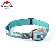 Naturehike Cycling Waterproof Headlamp USB Chargable Camping Headlight Outdoor Fishing LED Light