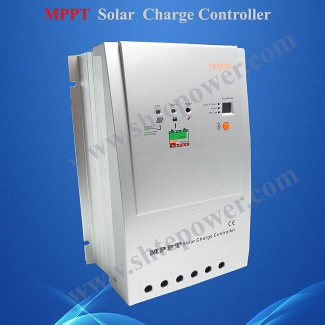 30A MPPT Solar Charge Controller Regulator 12V 24V TRACER 3215 Max150V pv INPUT 30A цена