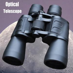 Image 1 - مناظير عسكرية قوية 20X50 عالية الوضوح الزجاج البصري Hd تليسكوب مزود بمنظار ثنائي ضوء منخفض للرؤية الليلية للصيد في الهواء الطلق
